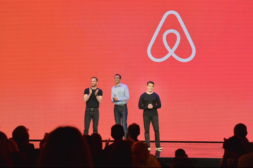 In 2008, Brian Chesky, Joe Gebbia, and Nate Blecharczyk founded Airbnb. The first listing was in Brian and Joe's apartment on Rausch Street in San Francisco.