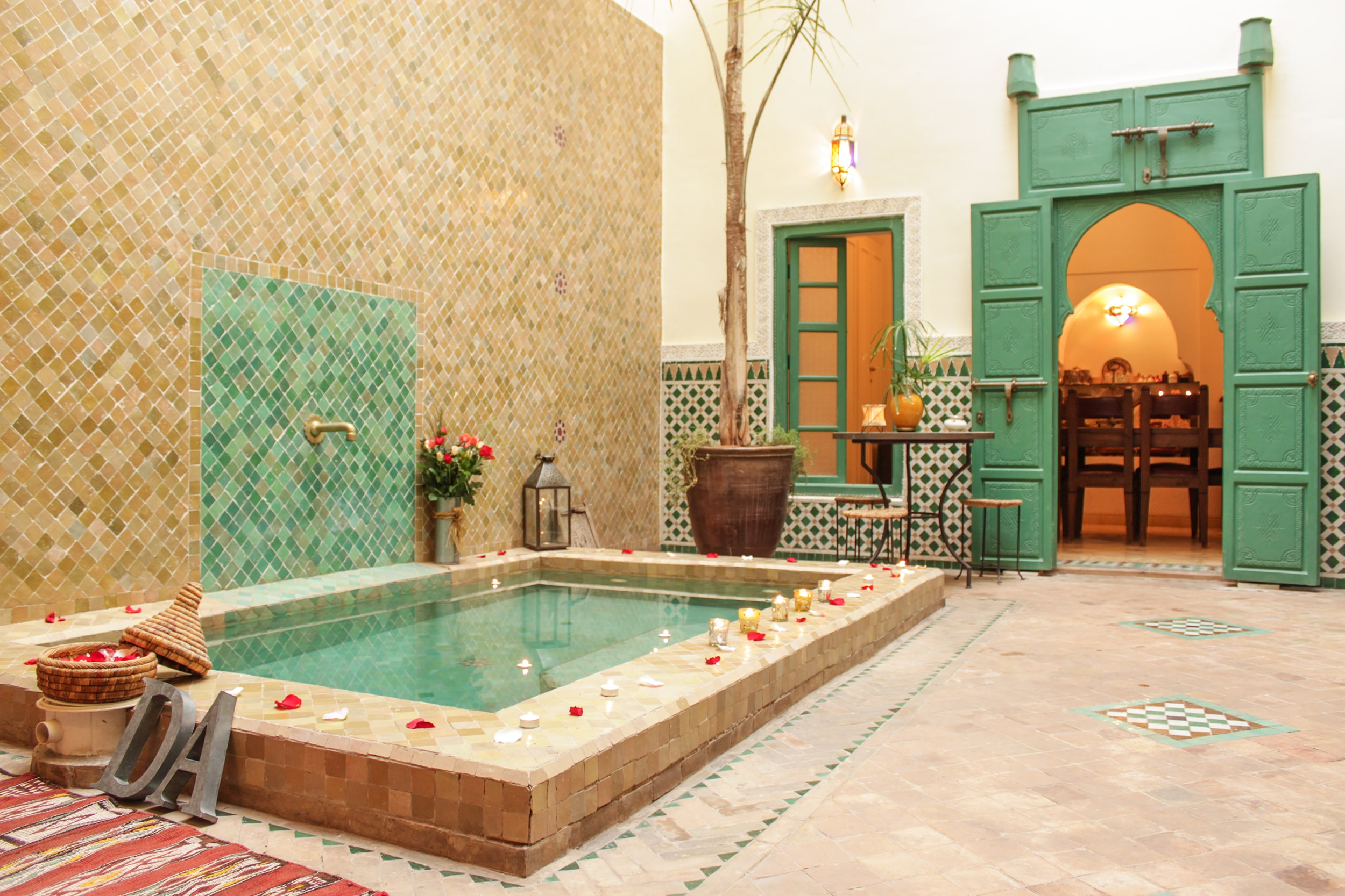 Private, 3-bedroom Riad, Marrakesh, Morocco