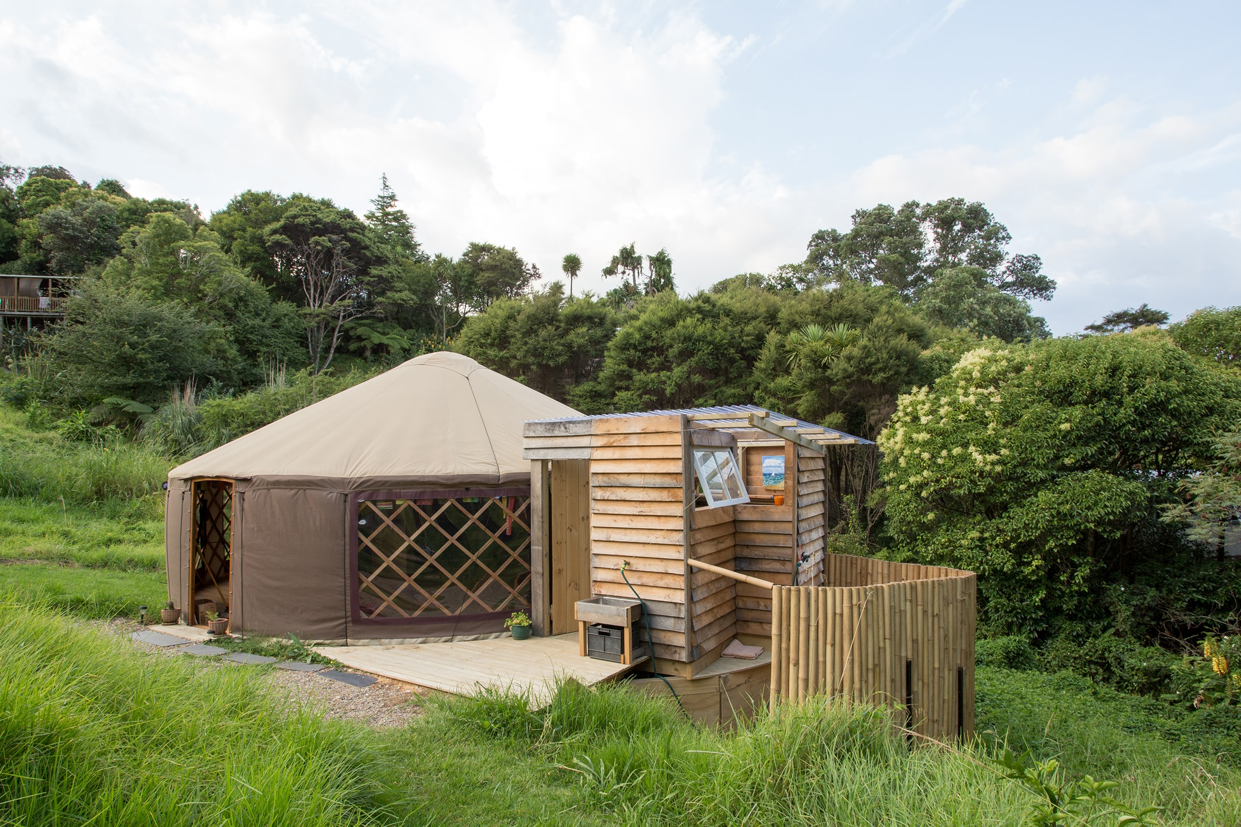 The Raglan Yurt, Waikato, New Zealand