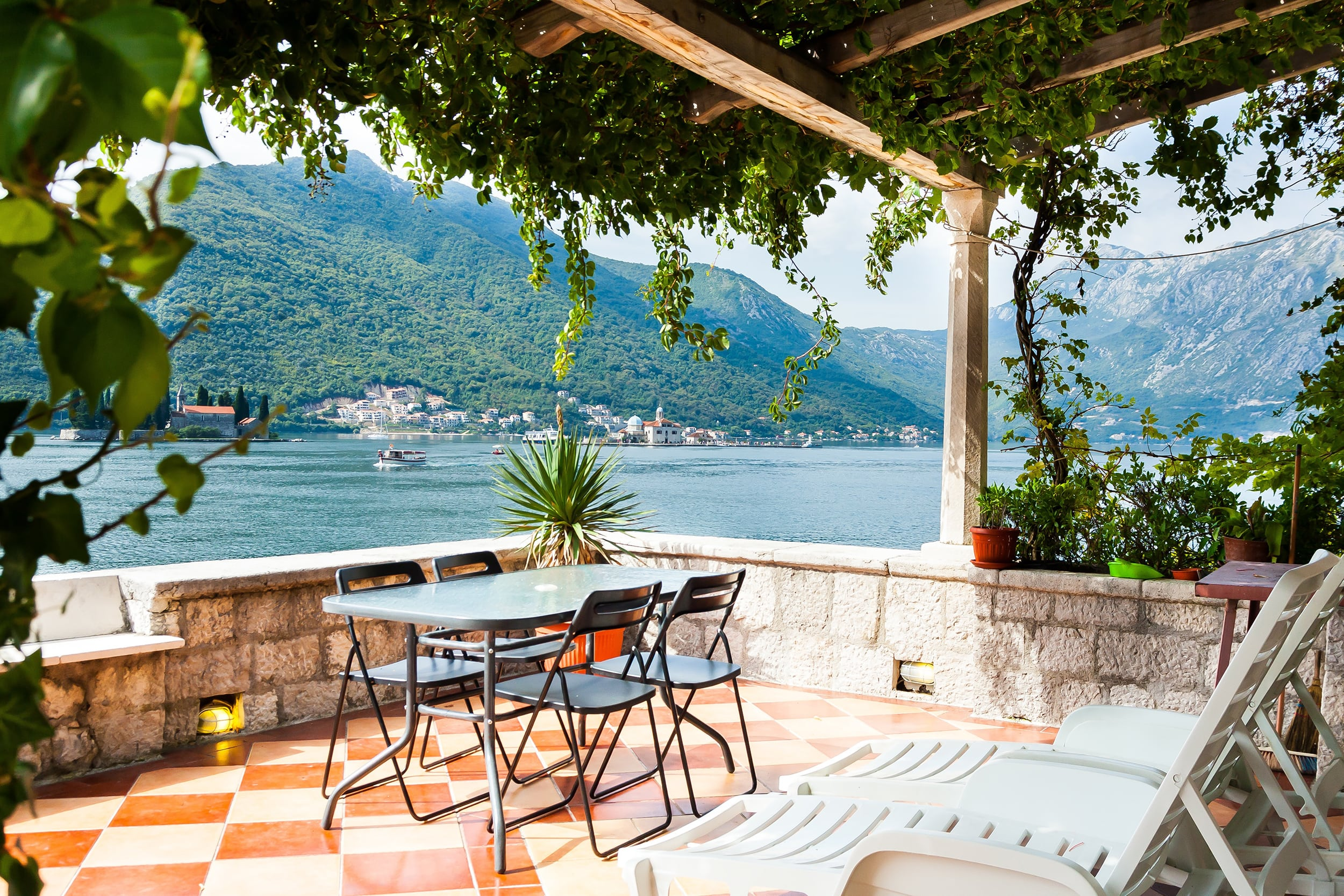 Waterfront with extraordinary view, Kotor, Montenegro
